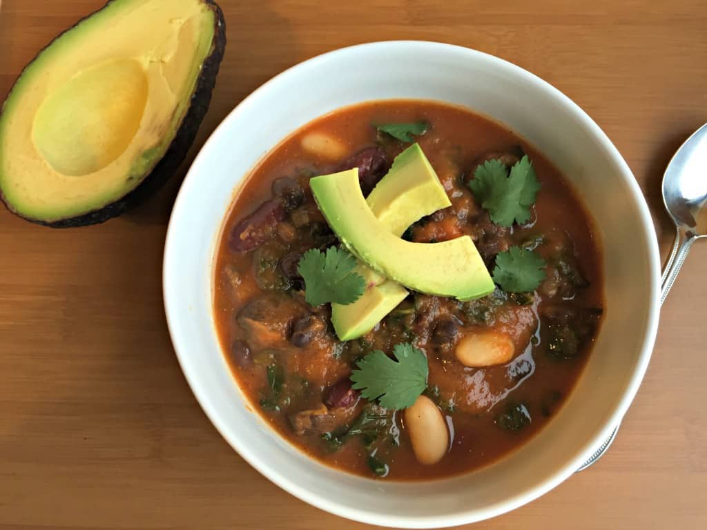 Vegan 3 bean soup-2e