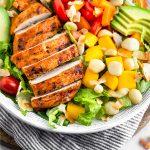 Tropical Chicken Salad Pinterest image