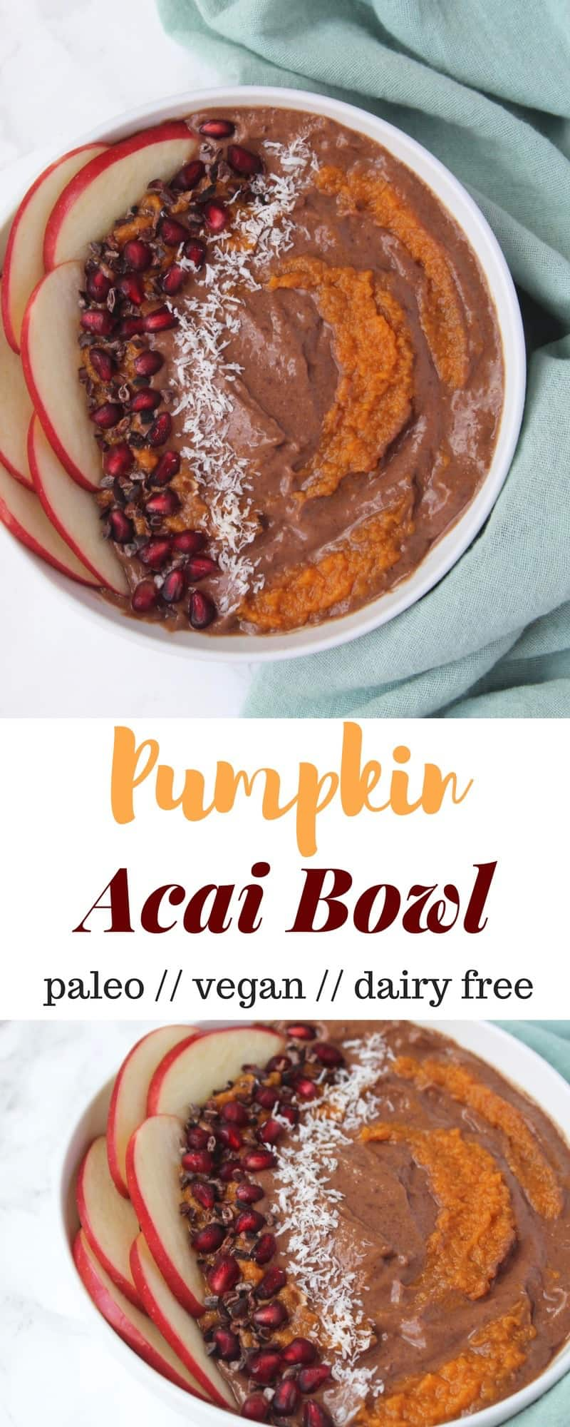 Pumpkin Acai Bowl