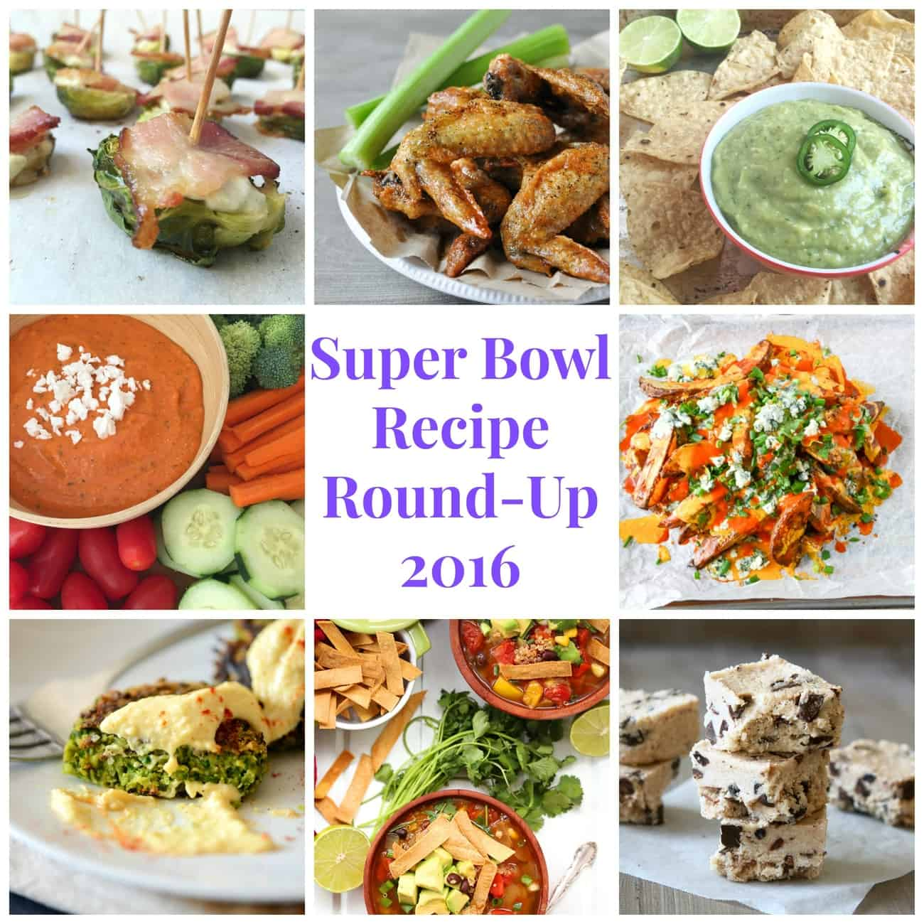Super Bowl Recipe Round-Up 2016