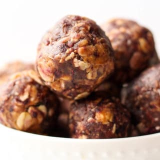 Peanut Butter & Jelly Energy Balls