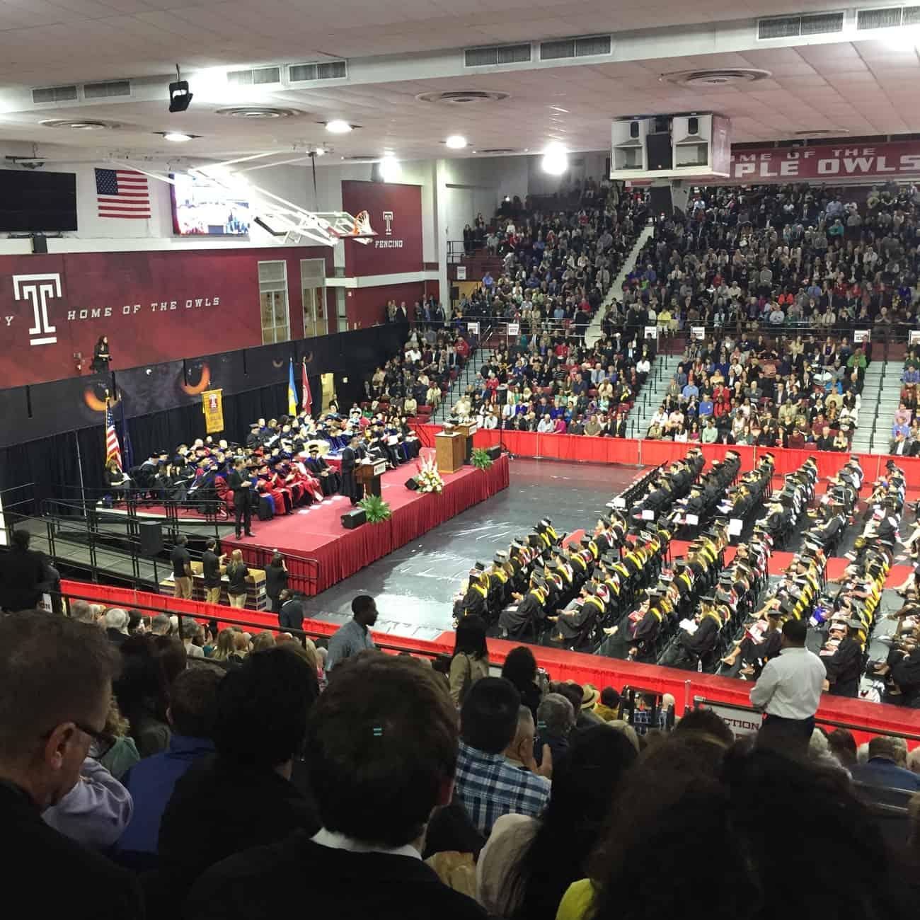 Michelle Graduates College