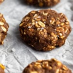 Healthy No Bake Protein Cookies Pinterest image