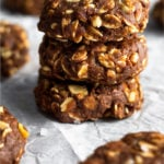 Protein cookies Pinterest image