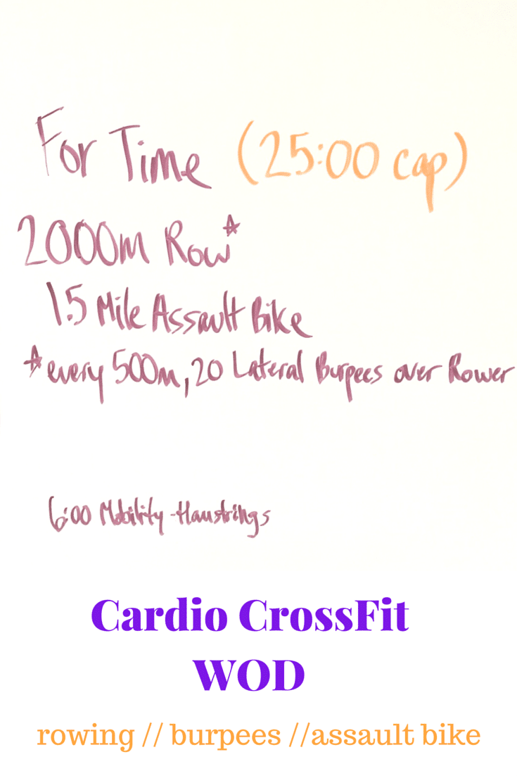 Cardio CrossFit WOD