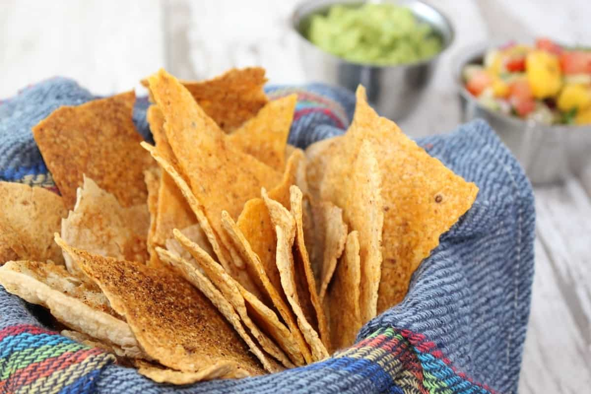 how to make oven baked tortilla chips