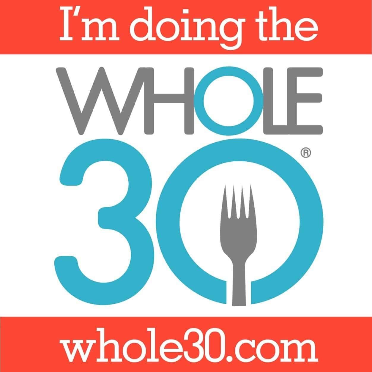 I am doing the Whole30 badge