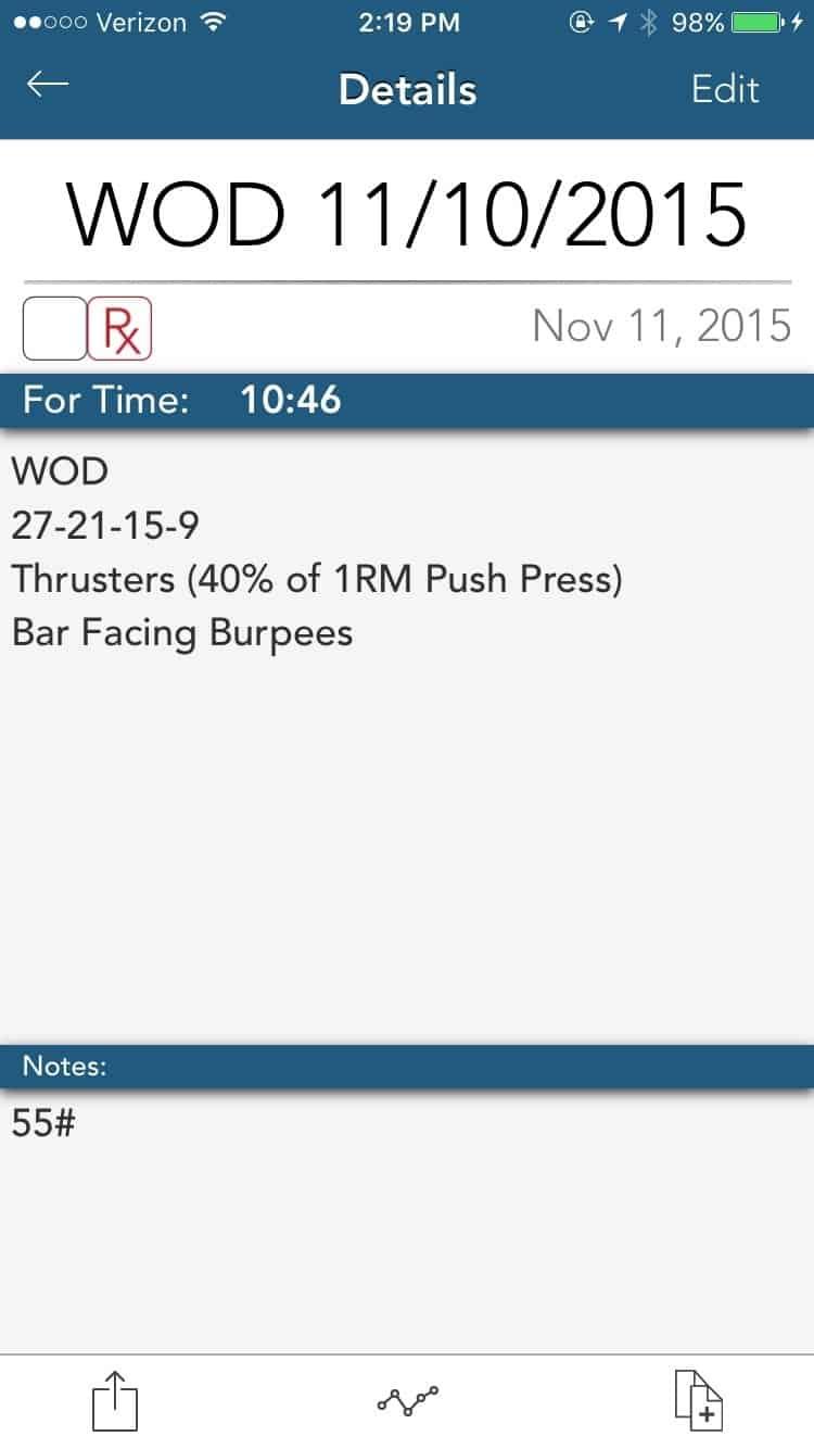 Thrusters & Burpees