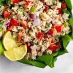 Tuna salad (no mayo) Pinterest image