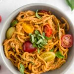 Creamy Sun Dried Tomato Pasta (Vegan/Whole30)