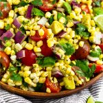 Summer Corn Salad Pinterest image