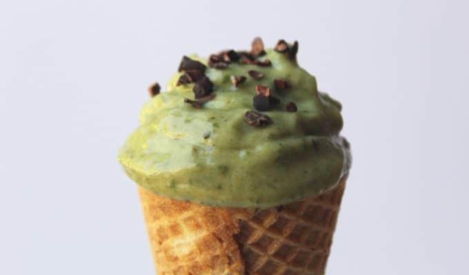 3 Ingredient Mint Ice Cream (No Churn!)