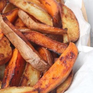 Cast Iron Skillet Crispy Potato Wedges