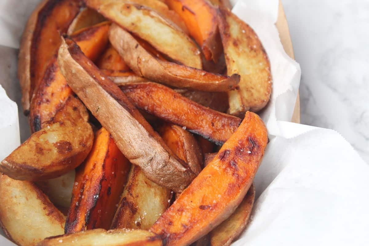 Cast Iron Skillet Potato Wedges