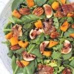 Crispy Prosciutto, Fig, & Butternut Squash Salad