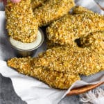 Pistachio Crusted Chicken Tenders Pinterest image