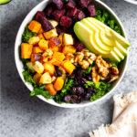 Vegan Power Bowl Pinterest image