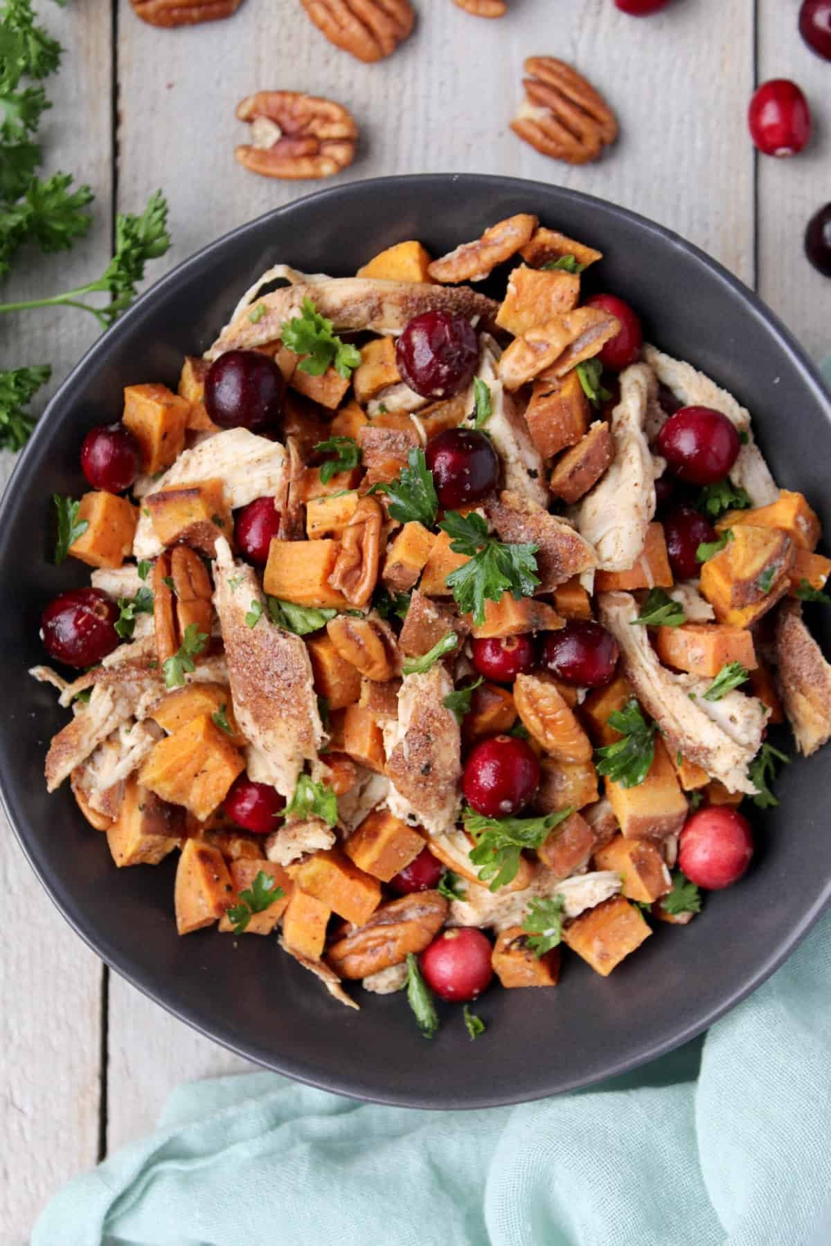 Harvest Chicken & Sweet Potato Salad