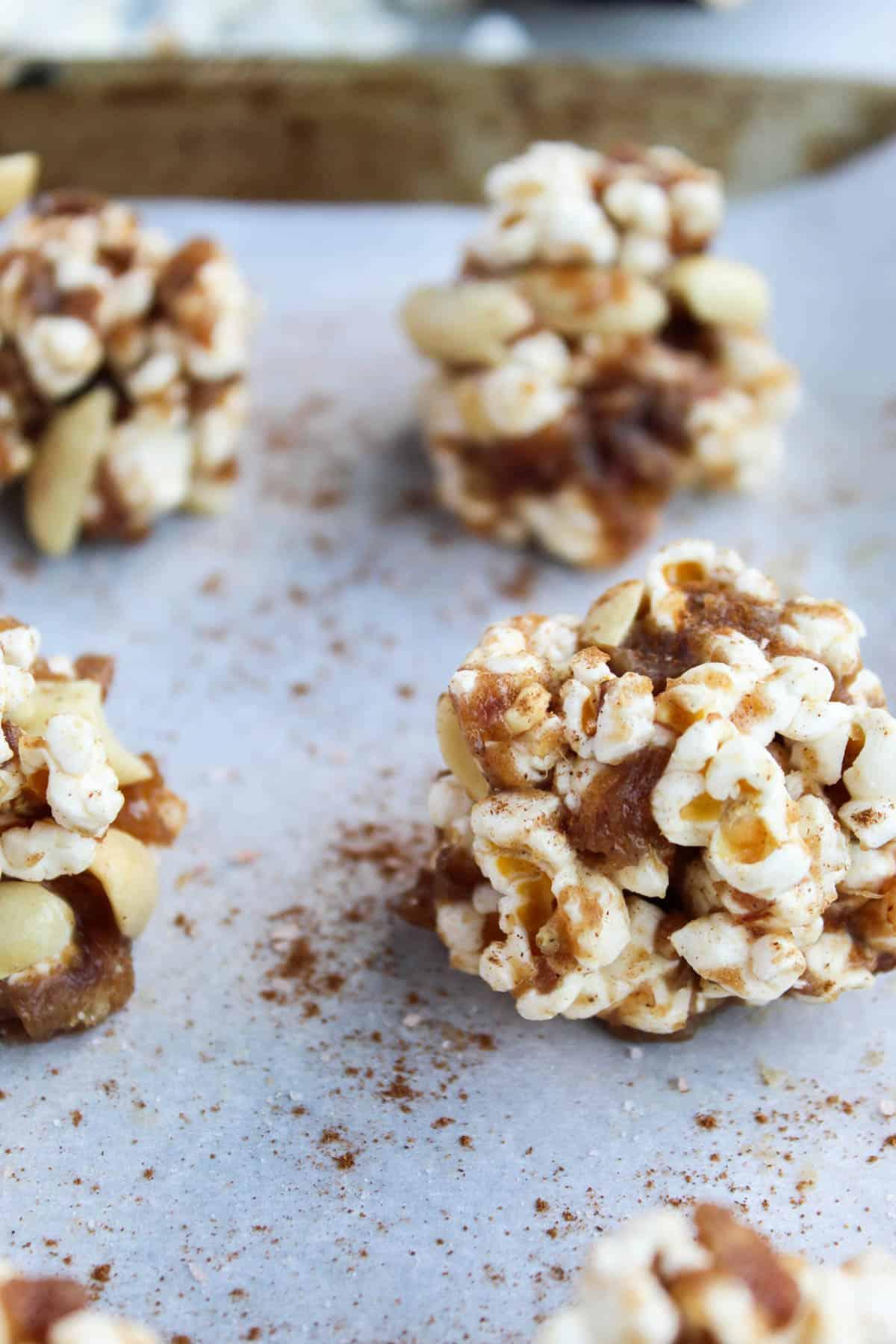 caramel popcorn balls soft