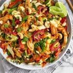 Vietnamese Chicken Cabbage Salad Pintetest image