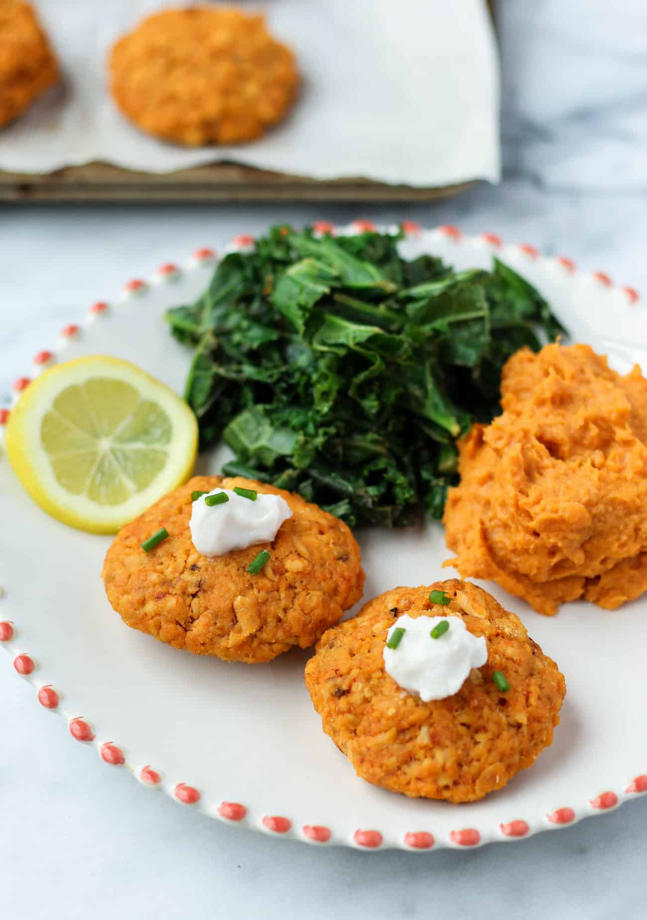 Curry Salmon Cakes