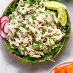 Cilantro Lime Chicken Salad Pinterest Image