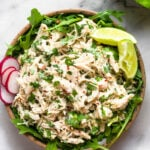 Paleo Cilantro Lime Chicken Salad