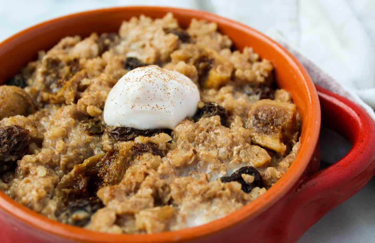 Healthy Horchata Rice Pudding