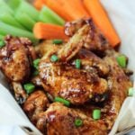 Baked Spicy Java Wings