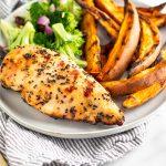 Grilled Lemon Pepper Chicken Pinterest image
