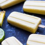 Spicy Pineapple Popsicles