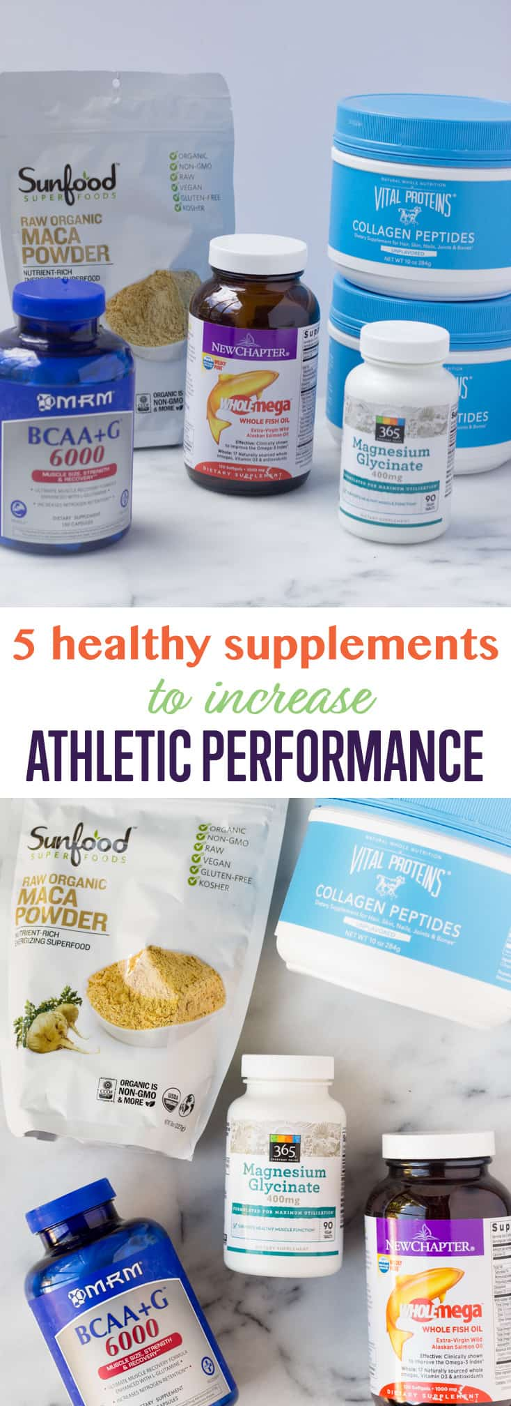 Step up your fitness! Add these 5 healthy supplements to increase athletic performance - build muscle, recover faster, increase intensity, & reduce fatigue! - Eat the Gains