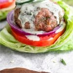 Jalapeno Ranch Turkey Burgers Pinterest image
