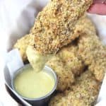 Pistachio Coconut Baked Chicken Tenders