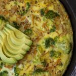 Sweet Potato Broccoli Frittata
