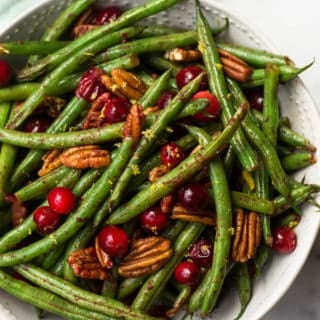 Easy Paleo Holiday Green Beans