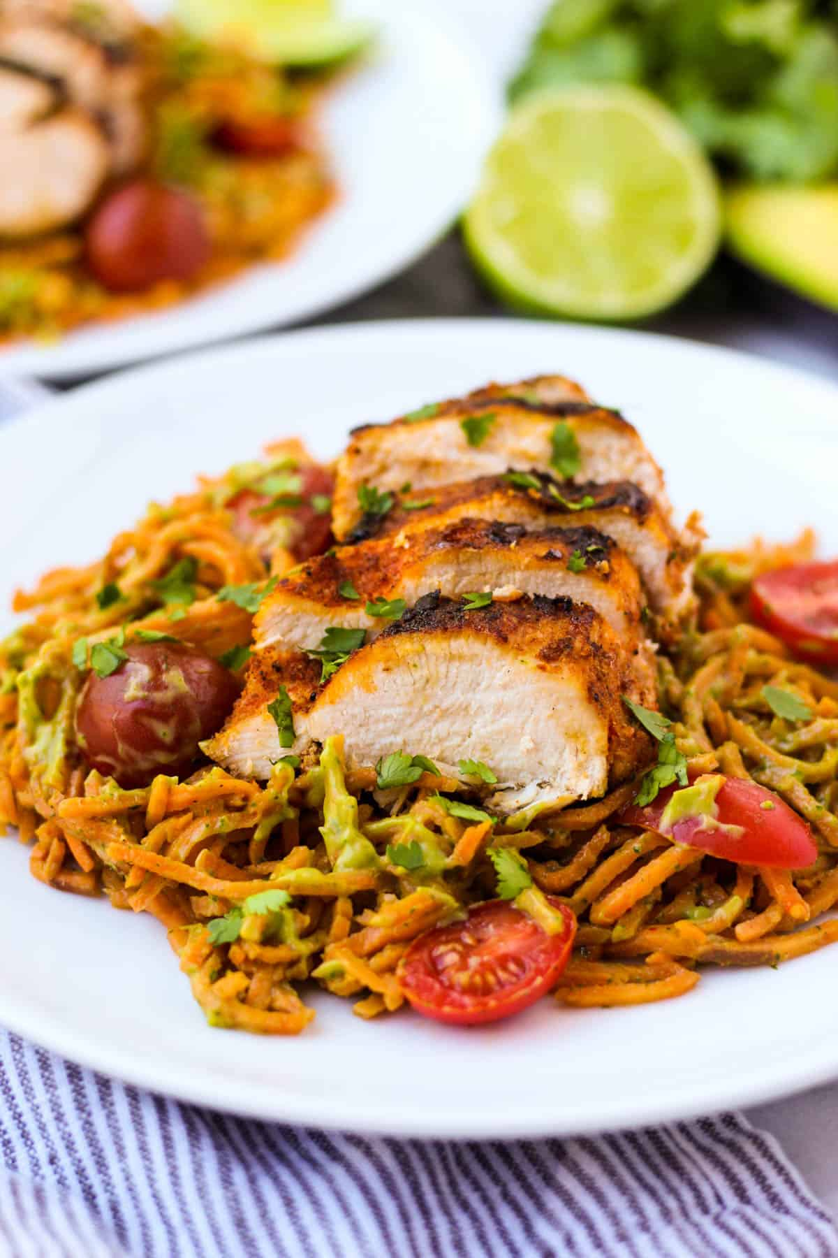Dishes to make with sweet potato noodles