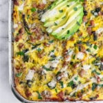 Ground Turkey Casserole Pinterest image