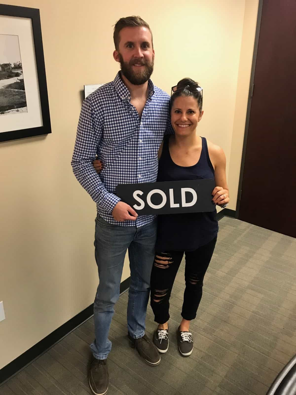 ALERT: First time home buyers buy a house!! Ahh we are officially home owners!! - Eat the Gains