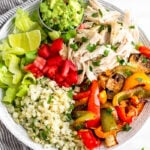Chicken Burrito Bowl (Paleo/Whole30)