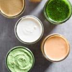 Whole30 Sauces Pinterest image