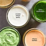 Whole30 Sauces Pinterest image