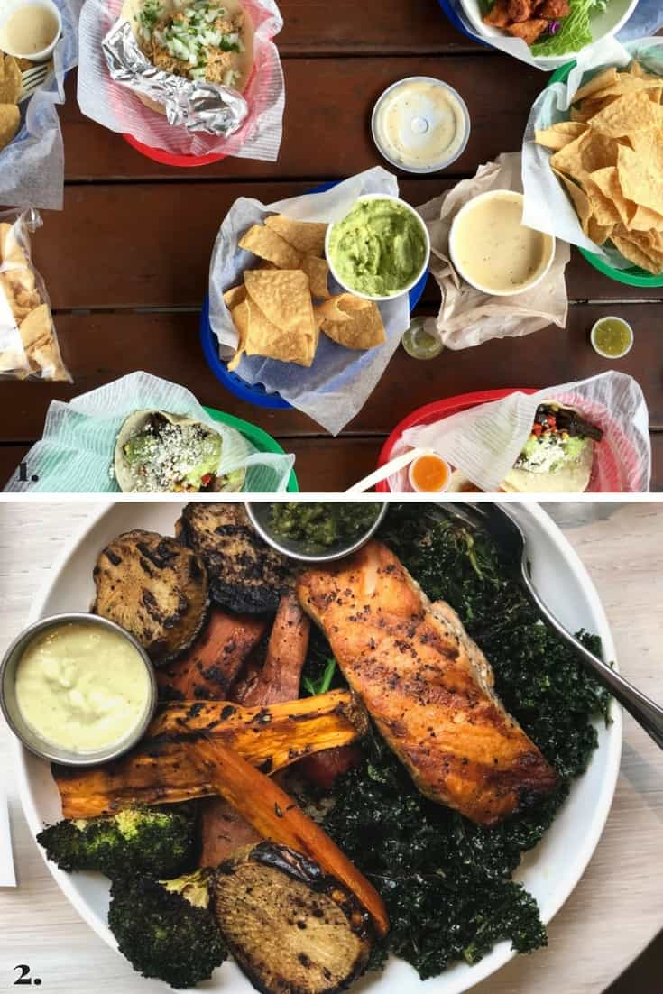 Collage of all the ramblings made on Eat the Gains in February