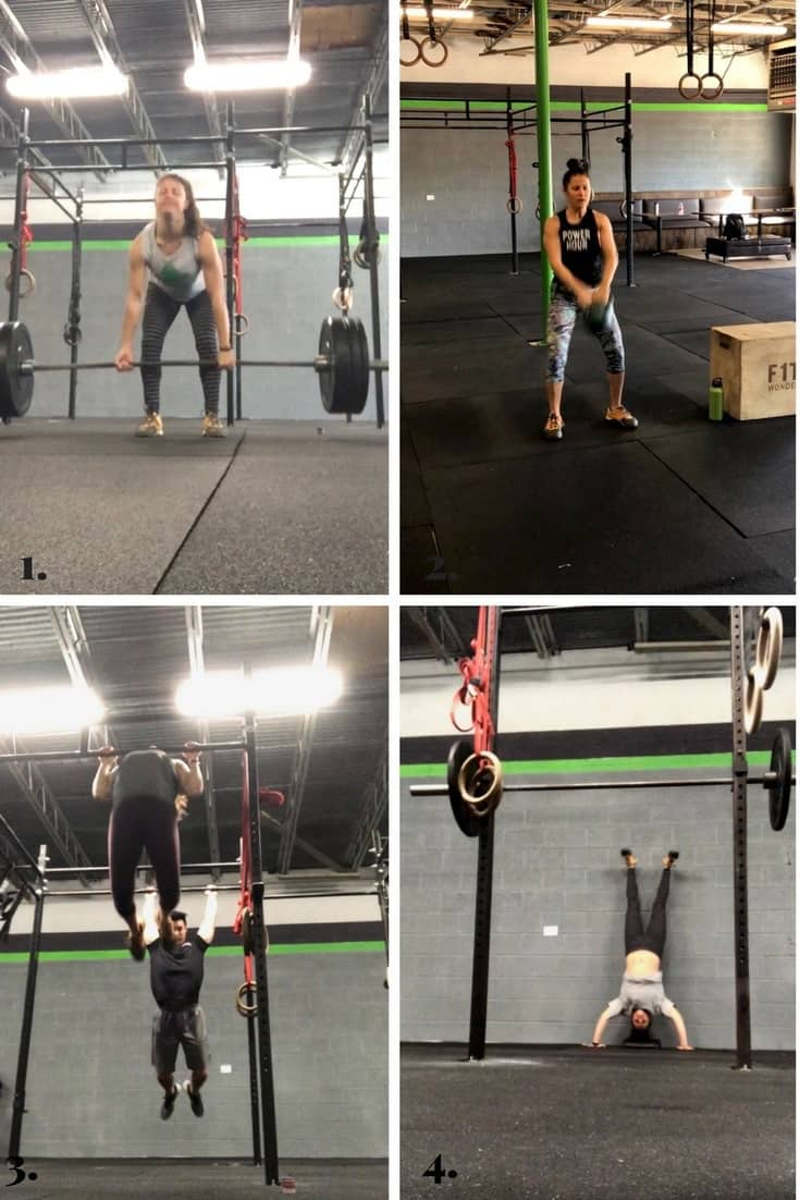 Collage of all the workouts made on Eat the Gains in February