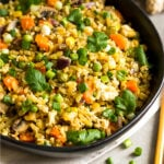 Broccoli Fried Rice Pinterest image
