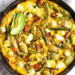 Sweet Potato and Asparagus Frittata