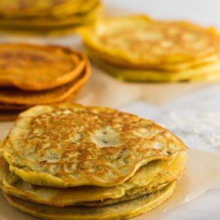 4 Ingredient Paleo Protein Tortillas 4 Ways
