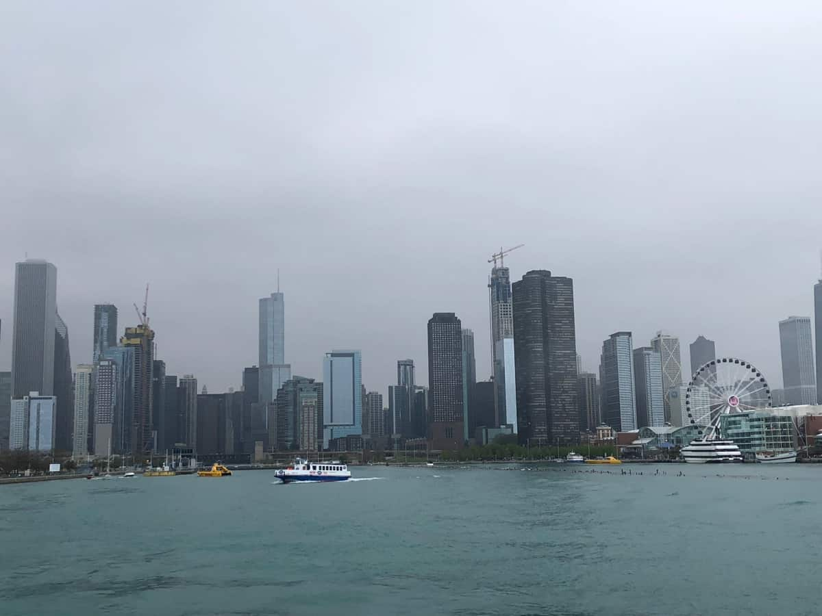Chicago, IL Skyline from the lake