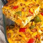 Whole30 breakfast casserole Pinterest image