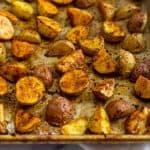 Healthy Crispy Roasted Breakfast Potatoes (Paleo/Whole30) Pinterest image